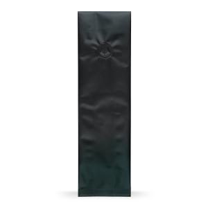 Seitenfaltenbeutel Schwarz mit Aromaschutzventil Base