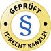 IT-Recht Kanzlei geprüft